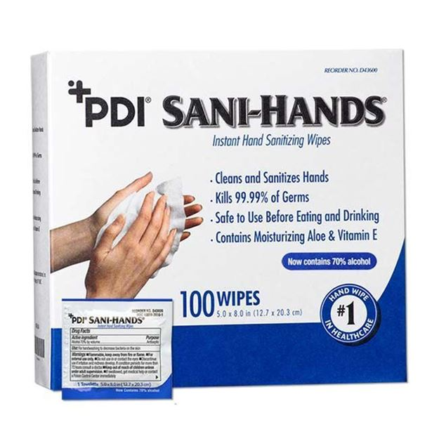 Picture of PDI Sani-Hands - Instant Hand Sanitizing Wipes