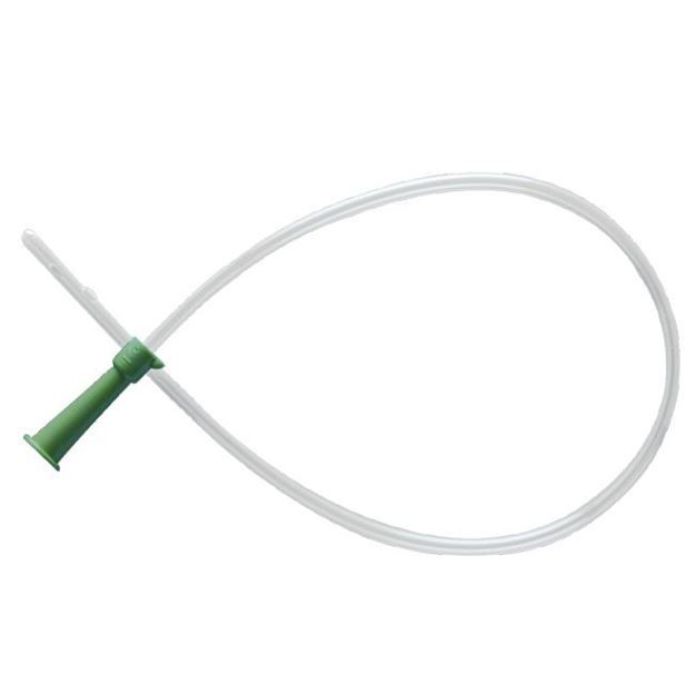 """Picture of Rusch Easy Cath - 16"""" Straight Catheter with Funnel End"""