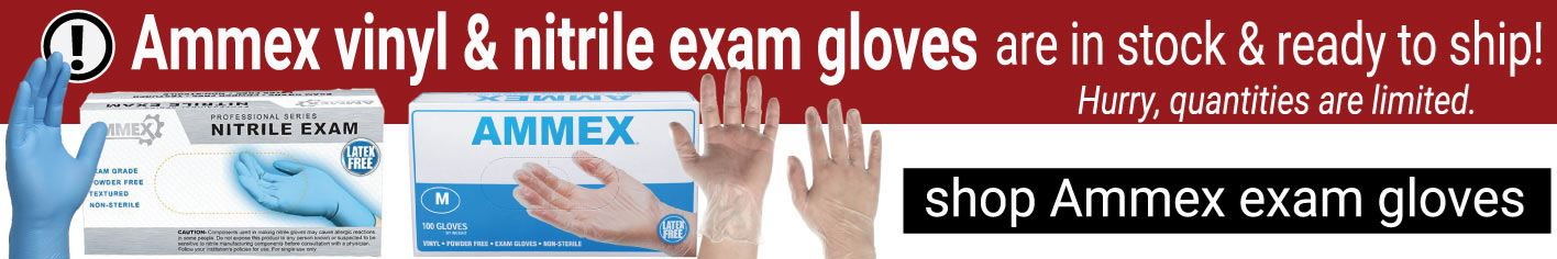 Ammex Gloves now in stock
