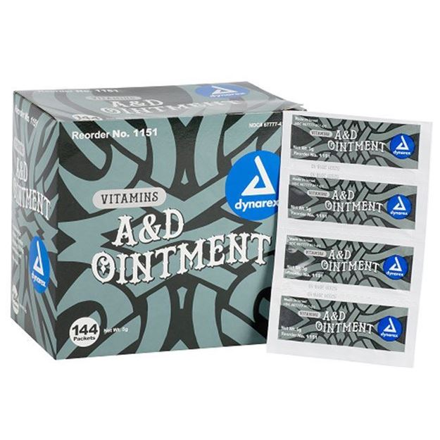 Picture of Dynarex A&D Ointment 5 Gram Packets