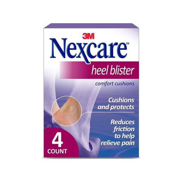 Picture of 3M Nexcare Heel Blister Comfort Cushions