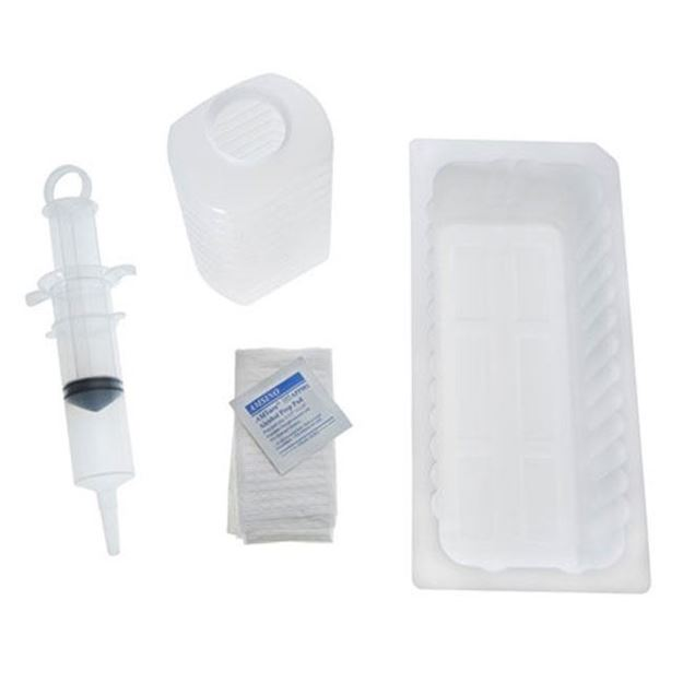 Picture of AMSure Irrigation Tray w/ 60cc Piston syringe for Foley Catheters
