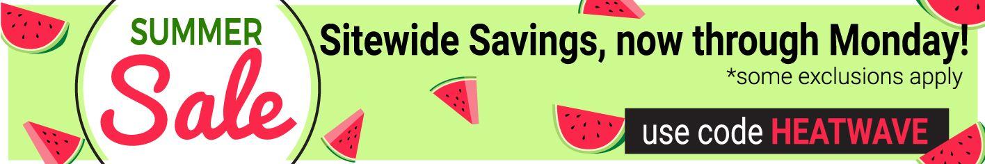 Save on medical supplies through Monday!
