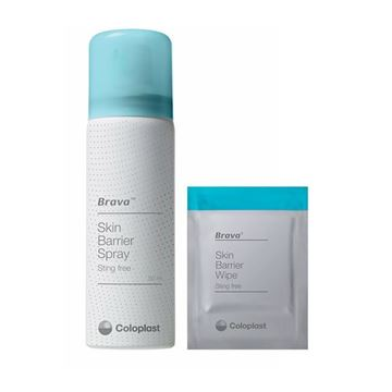 Picture of Coloplast Brava - Skin Barrier Wipes/Spray (Sting Free)